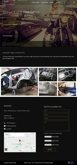 Autobody OÜ kodulehekülg