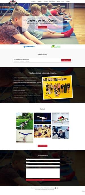 Fitness Office MTÜ kodulehekülg