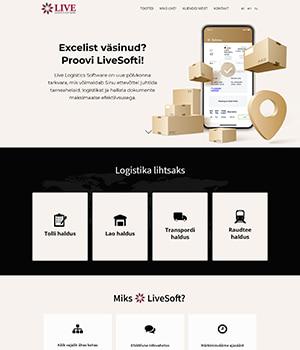 LiveSoft ettevõtte esileht